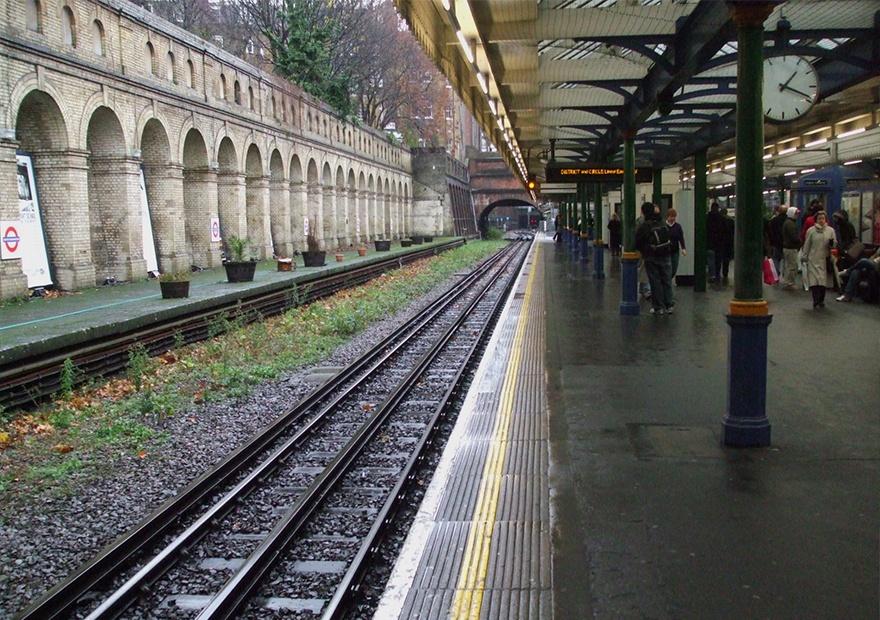 South Kensington Tube Station